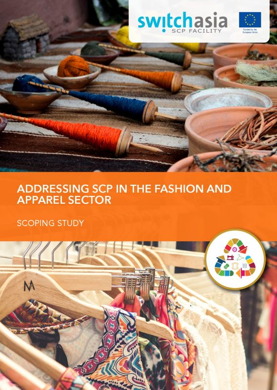 Cover Addressing SCP in the Fashion and Apparel Sector
