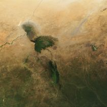Lake Chad from Space