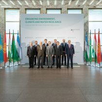 Group photo from the Green Central Asia Conference 2020